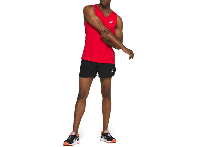 asics Silver Singlet Men classic red